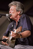 John Hammond, Jr. performs at the New Orleans Jazz & Heritage Festival on April 23, 1999.