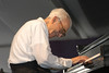 Dave Brubeck performs at the New Orleans Jazz & Heritage Festival on May 1, 2004.