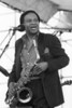 Junior Walker performs at the New Orleans Jazz & Heritage Festival on April 30, 1992.