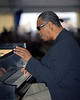 McCoy Tyner performs at theNew Orleans Jazz & Heritage Festival on May 4th, 2000.