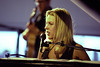 Diana Krall performs at the New Orleans Jazz & Heritage Festival on May 6, 2000.