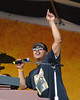 Ivan Neville performs with Dumpstaphunk at the New Orleans Jazz & Heritage Festival on April 29, 2005.