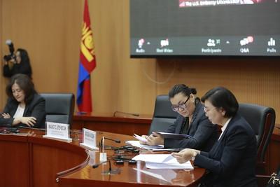 2020 оны аравдугаар сарын 26. Монгол, АНУ-ын Хүүхэд хамгааллын түншлэлийн компакт гэрээг хэрэгжүүлэх ажлын нээлт боллоо. ГЭРЭЛ ЗУРГИЙГ Г.ӨНӨБОЛД/МРА