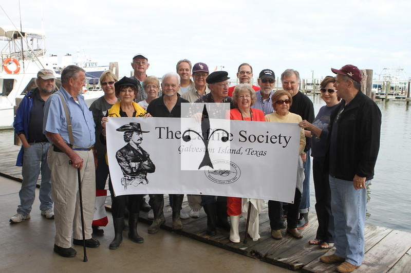 Jean Laffite Society visits Grande Terre'
