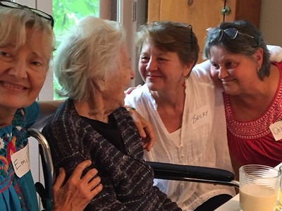 Jean's 100th birthday