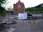 Construction, Allegro Parking Lot