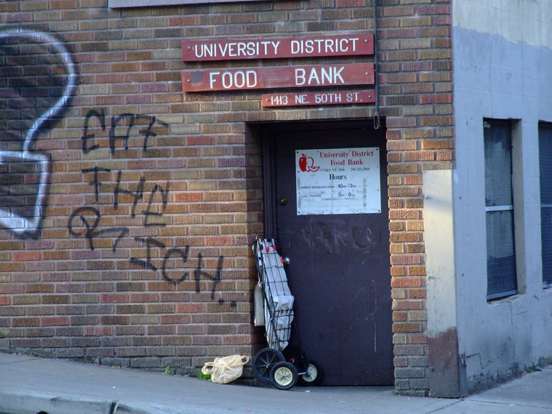 Food Bank.  Eat the Rich.