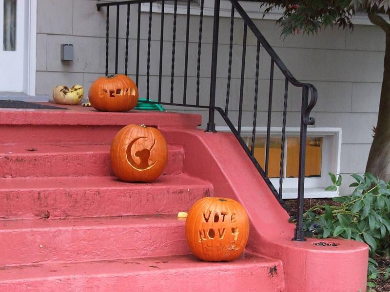 Vote Obama Nov 9.
