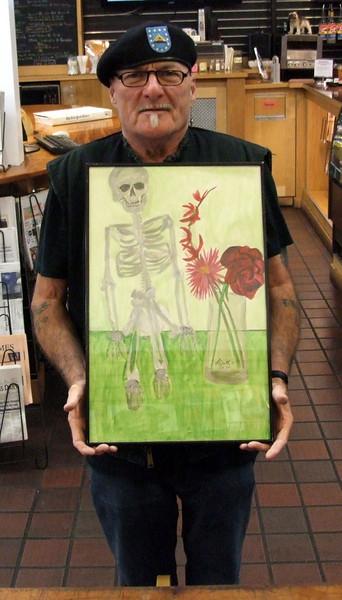 Keith's Skull Series, October 2010