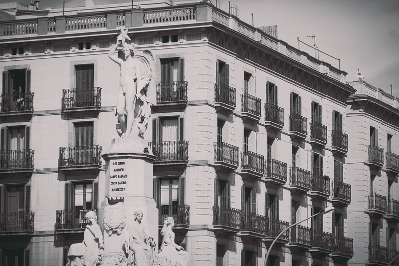 Barcelona, Spain -- a labyrinth of riches: architecture, food, & outstretched streets that kiss the sky and sea, Barcelona is a graceful seductress dripping with temptations for each of the senses. Its narrow streets perpetually cast hard shadows, with a light at the end of each way.