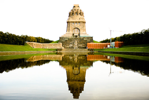 Völkerschlachtdenkmal, commemorates  the 1813 Battle of Leipzig, also known as the Battle of the Nations., Leipzig, Germany