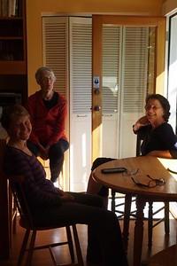 Becky Butler, Pat Byrd, Robin Ferry