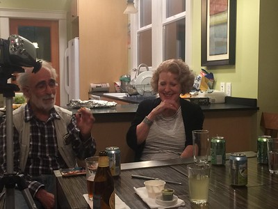 Jim Kahn, Diana Zykofsky Anhalt, Night Before Memorial