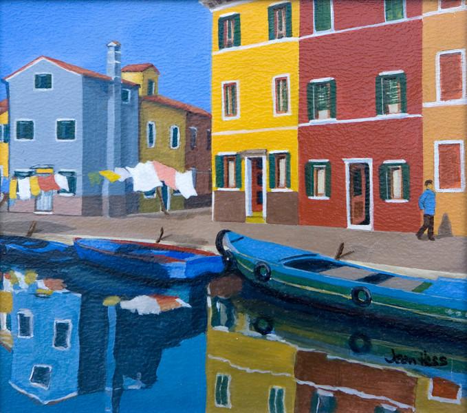 Canal Burano, Venice