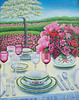 """Al Fresco""  16"" x 20"" 2012 Acrylic on Canvas."