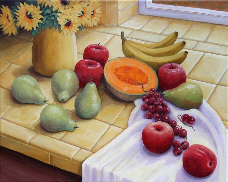 Tiled Fruit