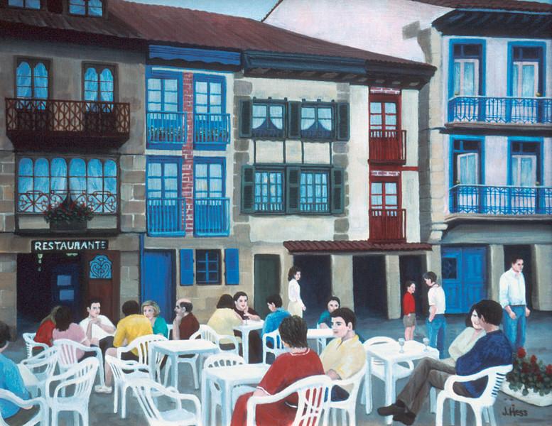 Hondarribia Town Square