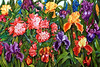 """""""Spring Tapestry""""  16"""" x 22""""  2000: Watercolor on 400 weight paper.  Private collection."""