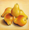 """""""Pear-Pod""""  10"""" x 10"""" 2010 Acrylic on canvas. Private collection."""