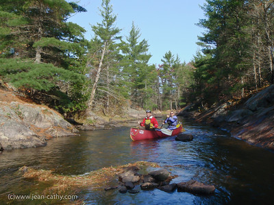 A very pleasant paddle down the Mississaga River near Buckhorn Ontario. Photo by Jean Lefebvre