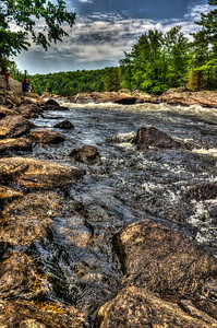 """In a little town in Ontario called """"Palmer Rapids"""" there is a challenging chute called Jessop's Chute. It brings fear to the Noobs but it's pretty!"""