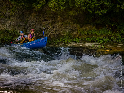 No Turning Back at the Elora Chute!