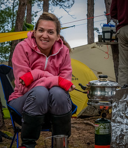 Glam camping pot Missy :)