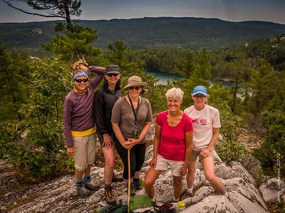 Ridge Hike above Topaz Lake