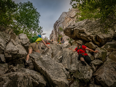 "Conquering the ""Crack"" in Killarney P.P."