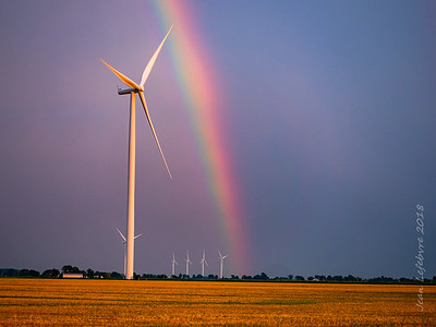 The Pot of Gold is a Windmill