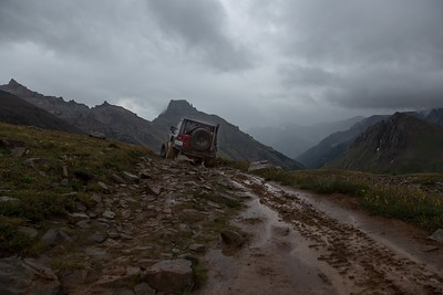 It was a dark and stormy afternoon in Yankee Boy Basin