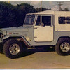 One of the few soft top Toyota Land Cruiser's imported into the US in 1973.