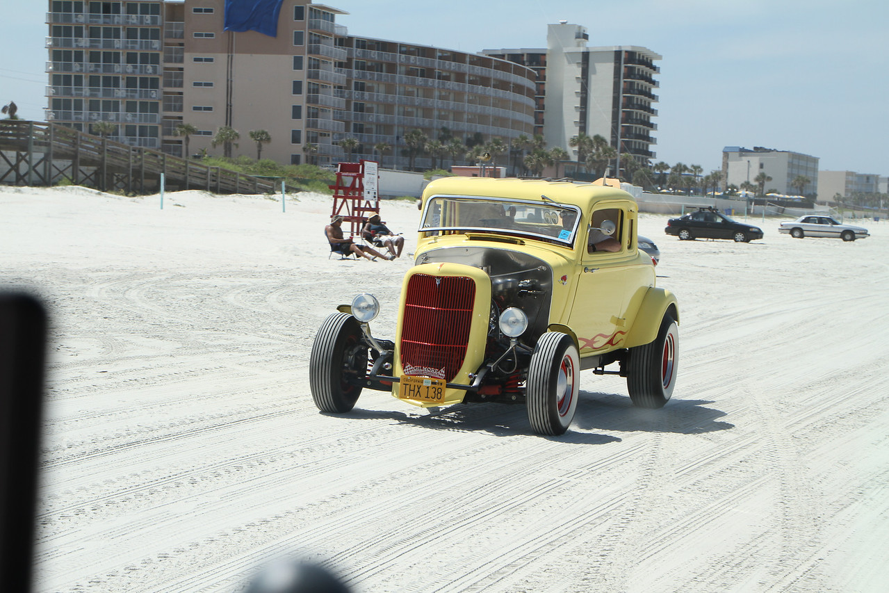 Picture if you will, stepping back in time when they used to race on the beach.