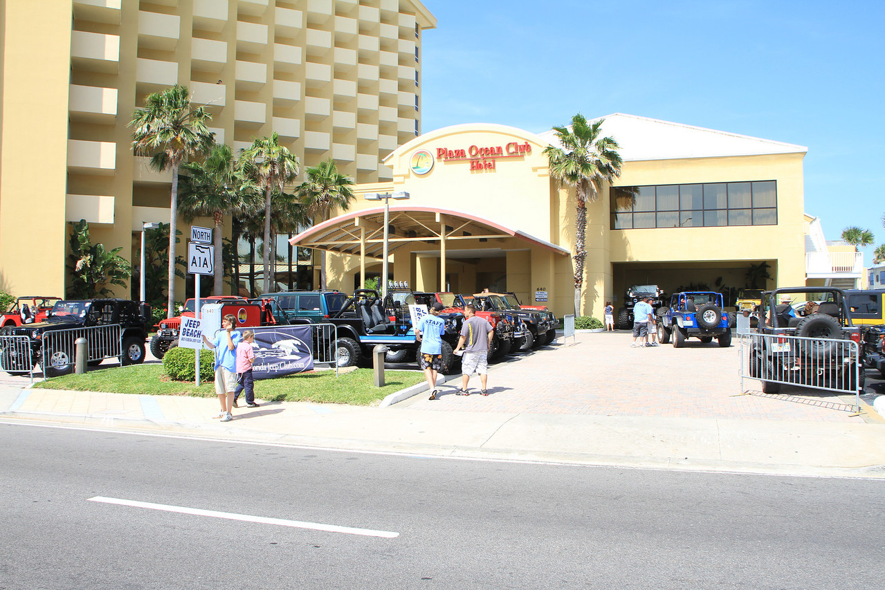 Headquarters for Jeep Beach