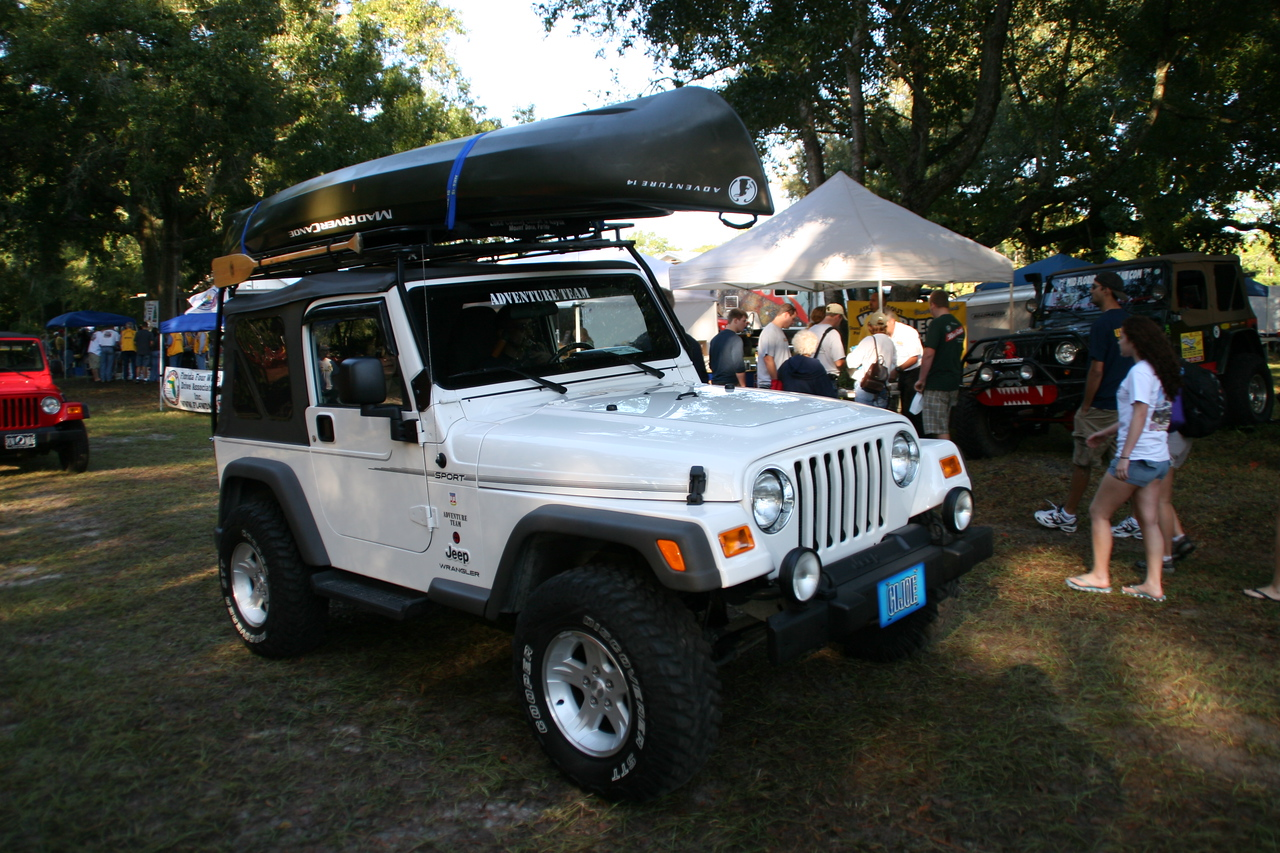 One of the show-n-shine entries, showing the versatility of Jeeps.