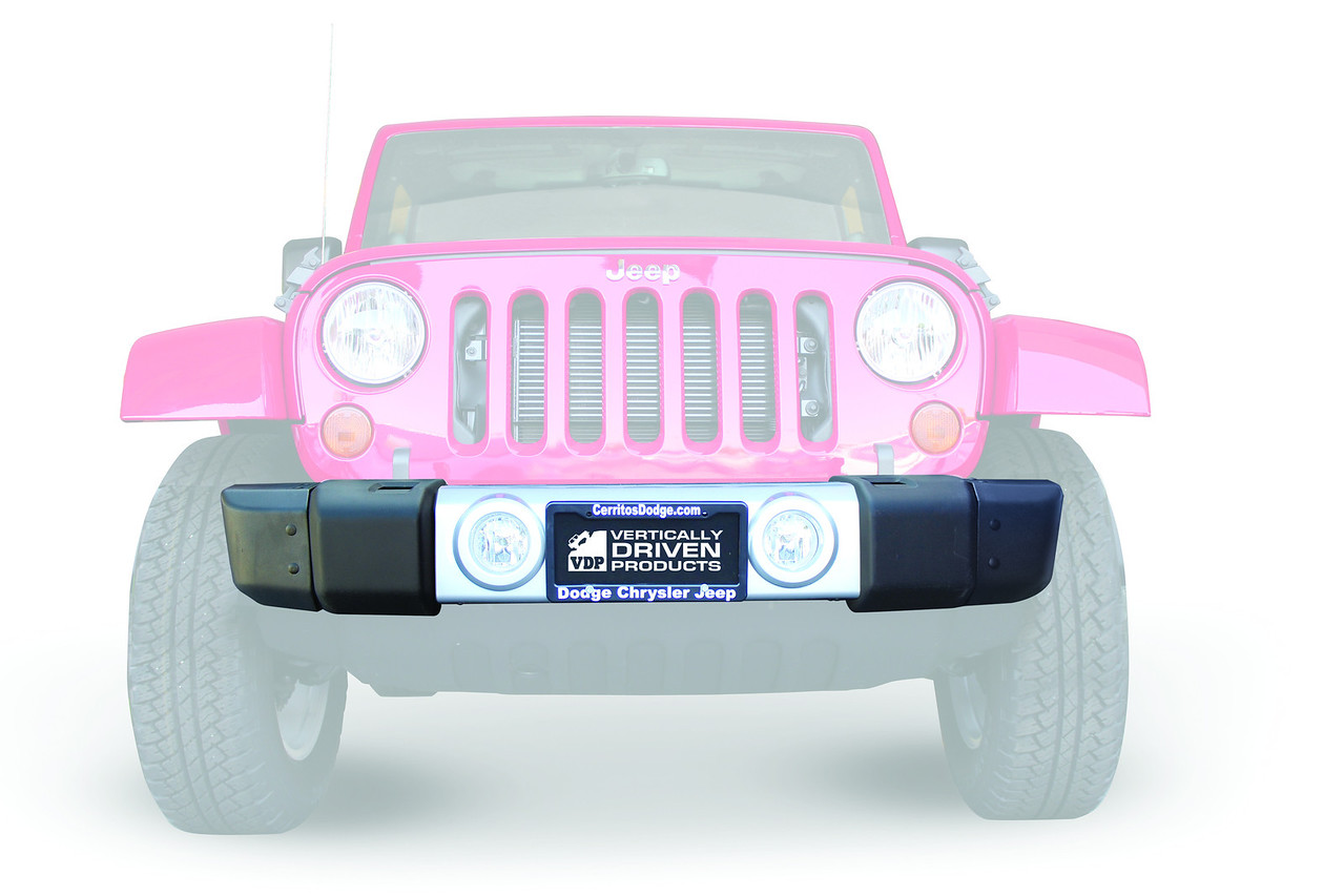 07-Current JK Wrangler<br /> Give your jeep a new rugged and beefy appearance; as well as improved tire clearance with vdp's doityourself kit. in house rotationally molded with matching bumper texture. made of indestructible linear low density polyethylene. reduces your bumper width by 17.5. easy to install includes easy to follow instructions and mounting hardware.