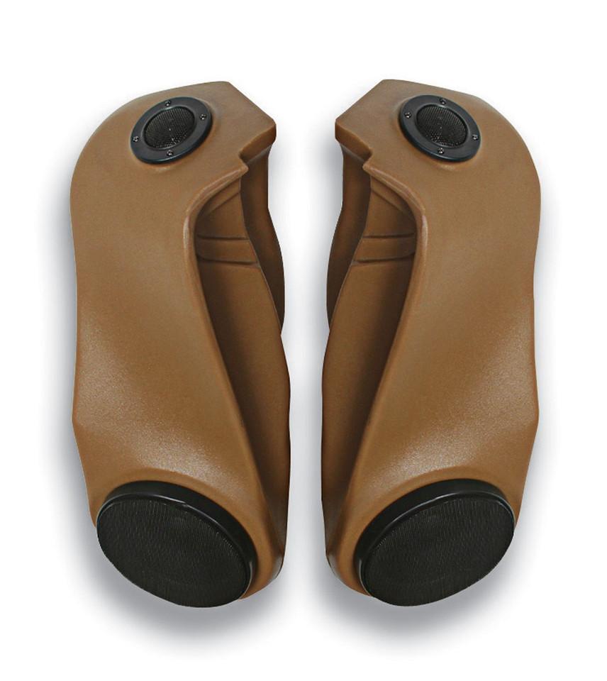 53601 - 97-06 TJ Wrangler - Black (with speakers)<br /> 53617 - 97-06 TJ Wrangler - Spice (with speakers)<br /> 53501 - 97-06 TJ Wrangler - Black (without speakers)<br /> 53517 - 97-06 TJ Wrangler - Spice (without speakers)