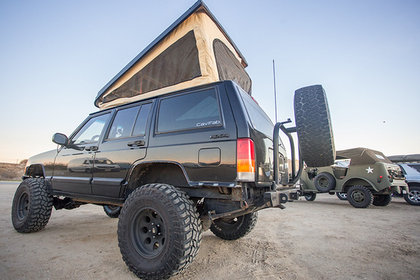 Completed Jeep-a-gon — The final product of the V1 Westfalia Cherokee Conversion