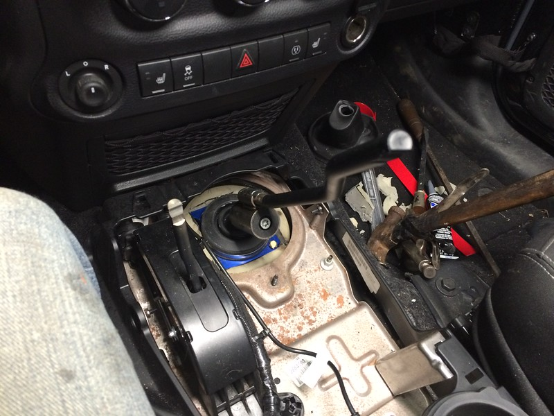 Jeep Wrangler JKU Short Shifter Installation