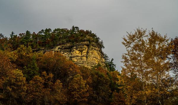 Bluffs in Wisconsin