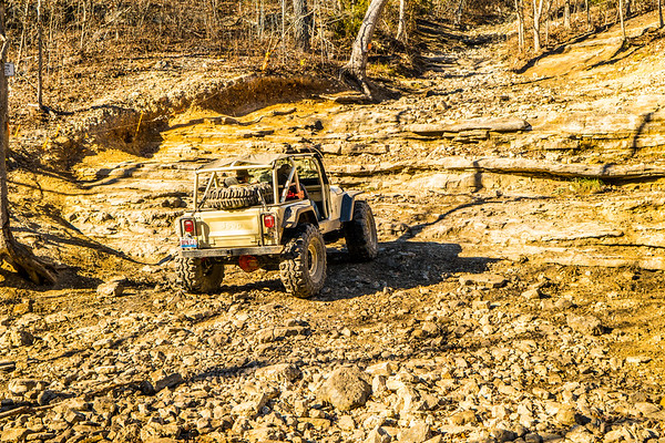 While Doug and I worked our way up and back down. Kirk wanted to give it a go too. Taken by my dad still. Edited by me