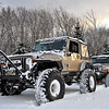 Two Lifted Jeeps Out Playing in the Snow - Springhill, Nova Scotia