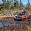 Jeep Stuck in Mud Bog - Nova Scotia