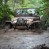Jeep in Mud Bog - Nova Scotia
