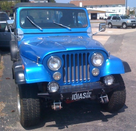 Blue CJ 1