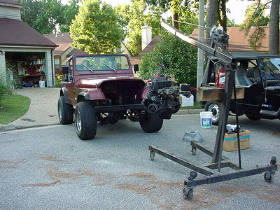 CJ Motor Hangin