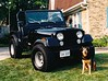 There's Summer! She's the dog the Jeep is named after. May she rest in peace.