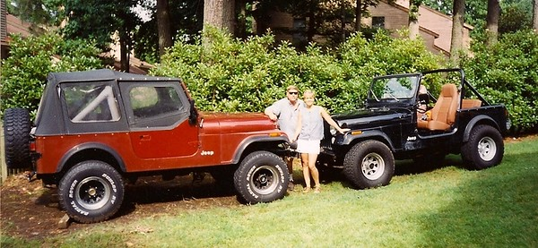Dad's CJ project (which Keith ended up with) And Lori's CJ