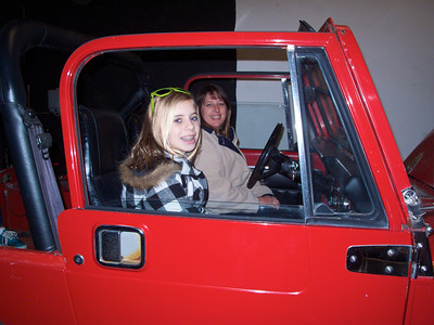Jan 10 Here's Emily in her Jeep in 2010. Check out the next pic.