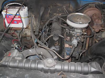 Day one inline 258 6 cylinder engine.
